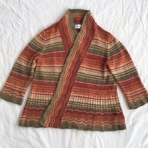 Alfred Dunner Cotton Cardigan
